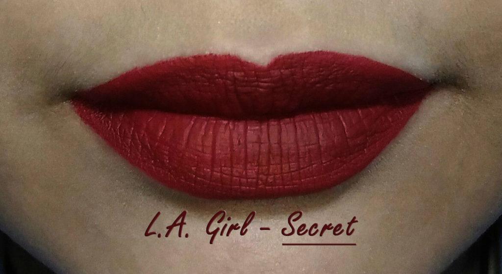 LA Girl - Secret