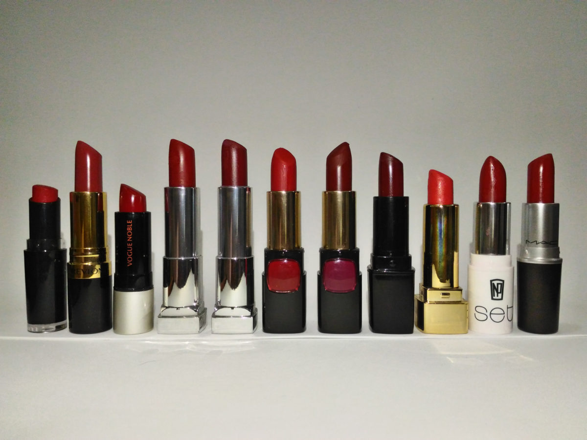 LIPSTICK LOVE: My Top Picks for Red Lipsticks