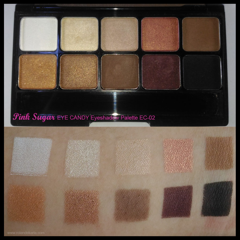 Pink Sugar Eye Candy Eye Shadow Palettes Product Review
