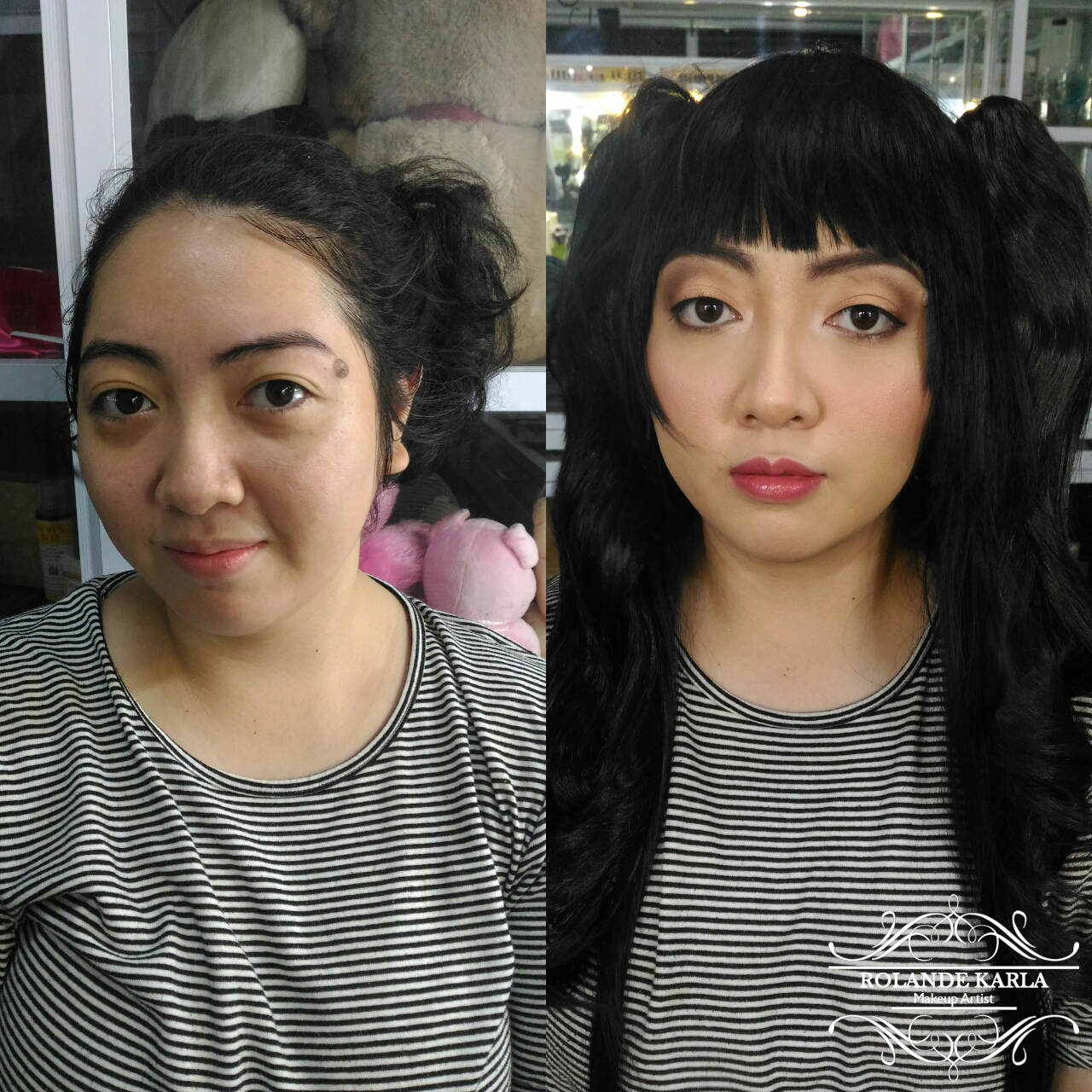 Makeup Transformations: Before and After/Finished Looks