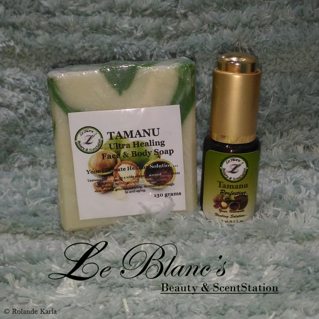 Skin Savers: Le Blanc's Beauty & ScentStation Tamanu Ultra Healing Soap and Serum