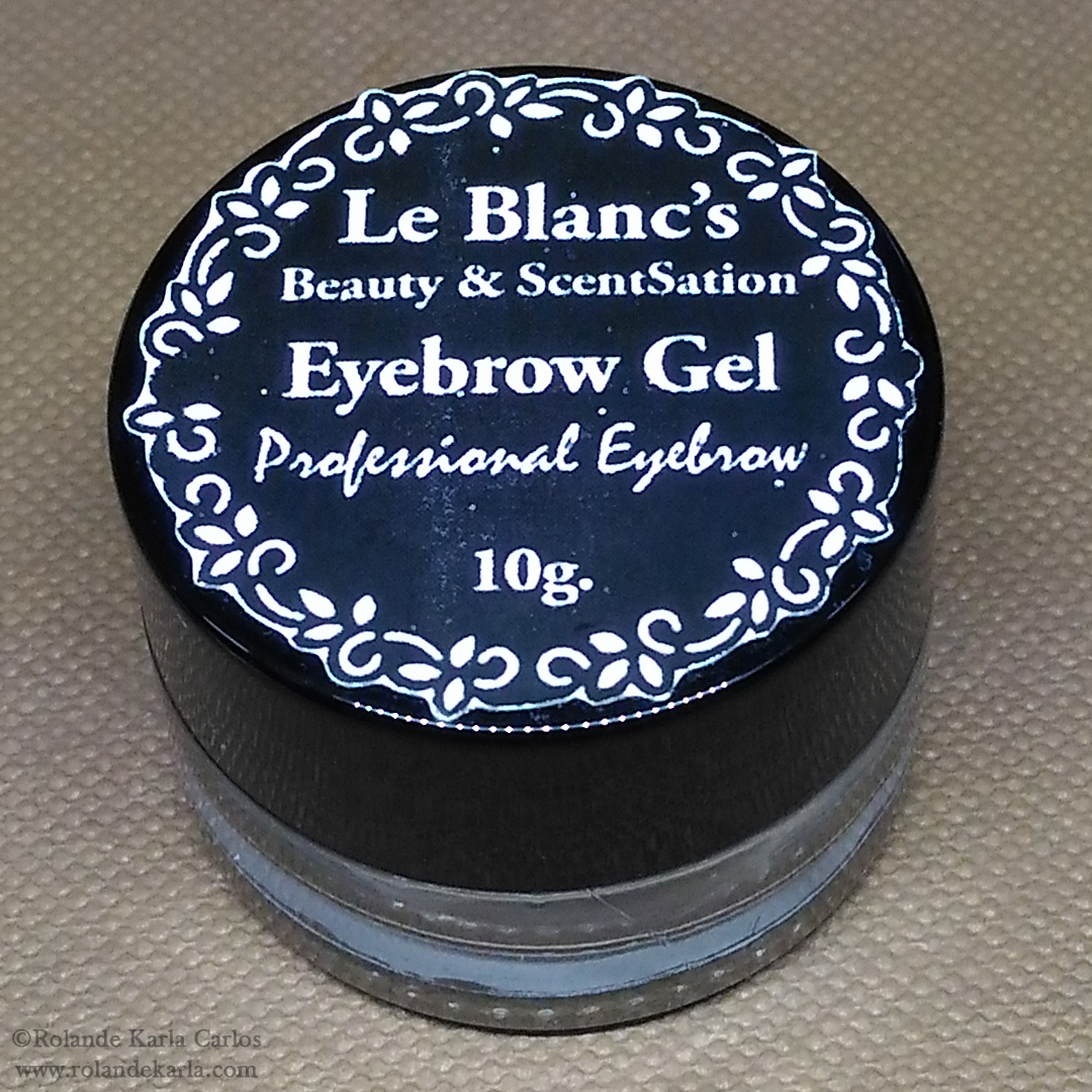 Le Blanc's Eyebrow Gel || Product Review + Swatches (UPDATED)